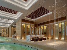 山东信豪鸿腾国际大酒店-洗浴中心设计-游泳池